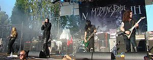 My Dying Bride - My Dying Bride opening for Meshuggah.