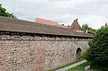 Nürnberg, Stadtmauer, Mauerturm Schwarzes F, Feldseite, 003.jpg