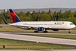 N181DN Delta Air Lines Boeing 767-332(ER)(WL) coming in from Atlanta (ATL) @ Frankfurt (FRA) 20.04.2018 (41597329291).jpg
