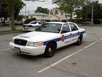 Nassau County, New York - A Nassau County Auxiliary Police car.