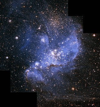 Magellanic Clouds - Part of the Small Magellanic Cloud (SMC).