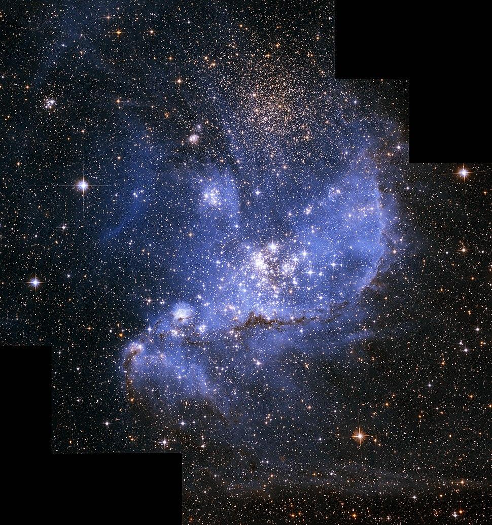 NGC 346 in Small magellanic cloud