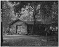NORTH FRONT AND WEST SIDE; VIEW TO SOUTHEAST - Zion National Park, Zion Museum, Springdale, Washington County, UT HABS UTAH,27-SPDA.V,7D-2.tif