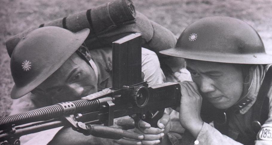 NRA machinegunners