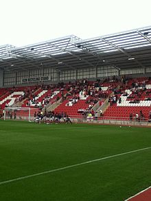 A The North Stand.