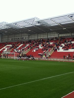 New York Stadium - The north stand
