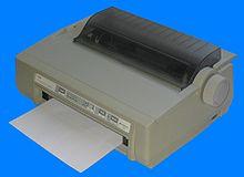 Nadelstreifendrucker