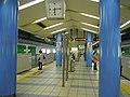 Nagahori Tsurumiryokuchi Line Nagahoribashi Station platform - panoramio (1).jpg