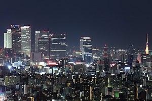 Vista nocturna de Nagoya.jpg