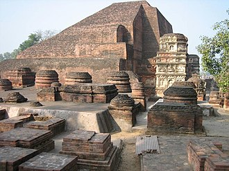 Nalanda - The ruins of Nalanda Mahavihara