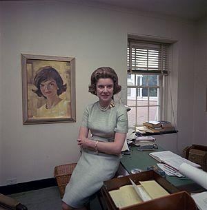 Nancy Tuckerman - White House Official Portrait, 1963