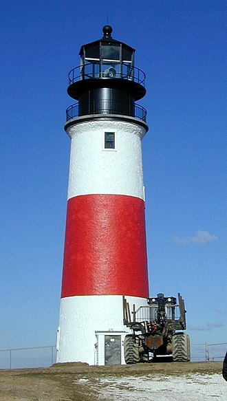 National Register of Historic Places listings in Massachusetts - Sankaty Head Light, in Nantucket