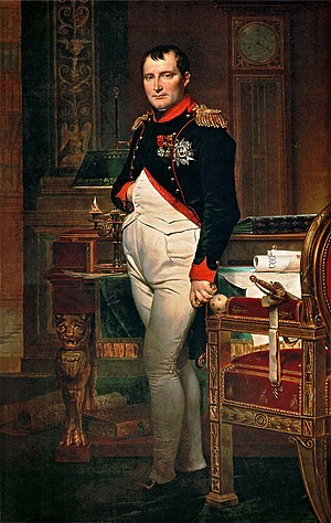 The Emperor Napoleon in His Study at the Tuileries - The second version