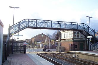 Narborough, Leicestershire - Narborough railway station