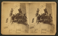 National Lincoln Monument, Springfield, Illinois. Naval group of statuary, from Robert N. Dennis collection of stereoscopic views.png