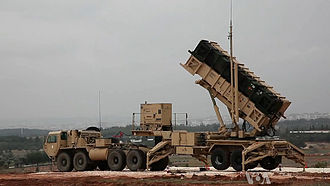 Syrian–Turkish border clashes during the Syrian Civil War - Image: Nato Missle Defense System in Turkey against Syria