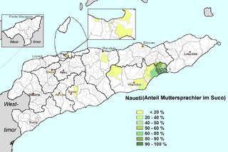Naueti language language