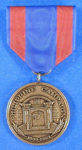 Philippine Campaign Medal - Philippine Campaign Medal, Navy version