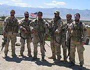 Navy SEALs in Afghanistan prior to Red Wing