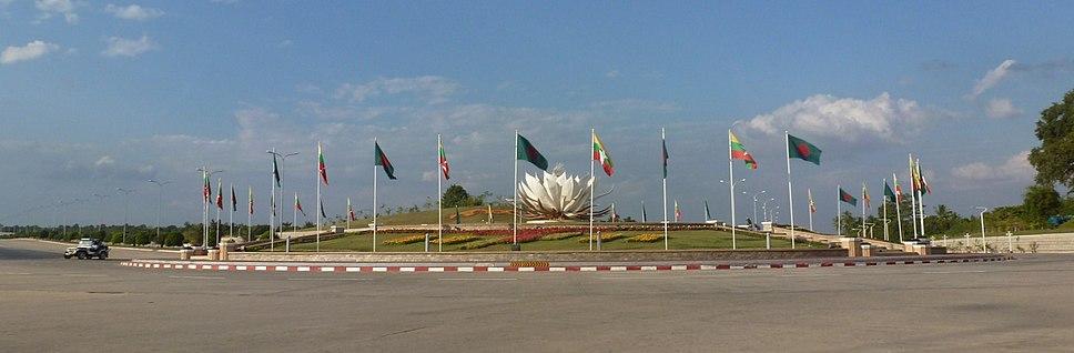 Naypyidaw -- Roundabout