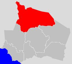 Vị trí của Huyện Jelebu