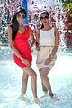Neha Hinge and Manasvi Mamgai at Water Kingdoms 14th anniversary (2).jpg