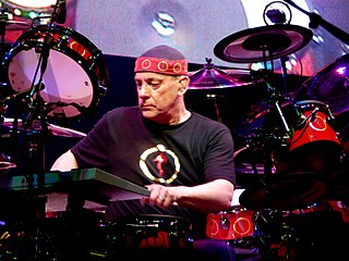 Neil Peart Canadian drummer