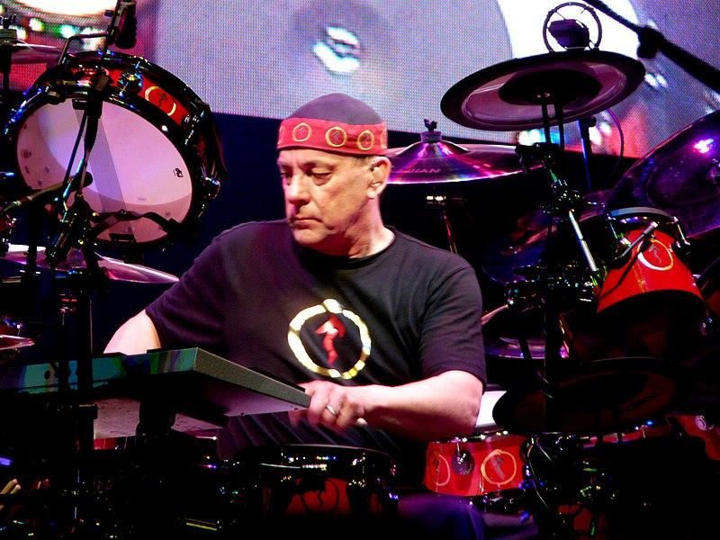 Neil Peart z kapely Rush