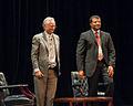 Neil deGrasse Tyson and Richard Dawkins at Howard University - September 28, 2010.jpg