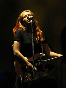 Neko Case performing at the Henry Fonda Theater in Los Angeles, 2007