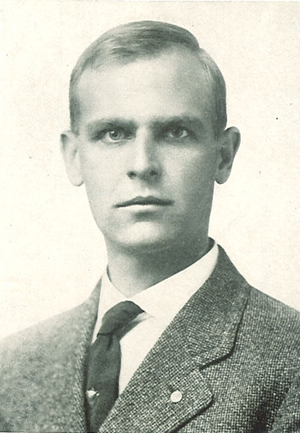 Nelson A. Kellogg - Kellogg pictured in Epitome 1934, Lehigh yearbook