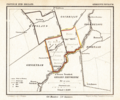 Netherlands, Peursum, map, around 1865-1870.PNG