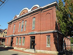 Manchester (Pittsburgh) - Image: New Zion Baptist Church Pittsburgh