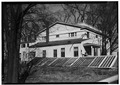 Newton House, Newtonville N.Y., S.E. Elevation, Albany Co., NY. - Newton House, Newtonville, Albany County, NY HABS NY,1-NEWT,1-1.tif