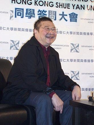 Ni Kuang - Ni Kuang at Hong Kong Shue Yan University, November 2007