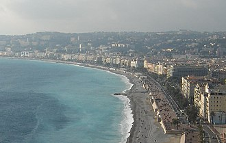 2016 Nice attack - The Promenade des Anglais, the site of the attack