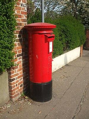 English: Nice old postbox
