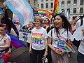 Nicola Sturgeon leading the Pride parade at Glasgow Pride 2018.jpg