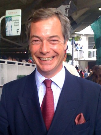 Nigel Farage - Farage attending the 2009 Ashes series at Lord's Cricket Ground