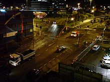Night Roadworks Auckland Nelson Street.jpg