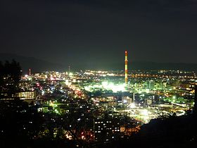 Night View of Nobeoka 2011 Jan.JPG