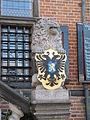 Nijmegen - Waaggebouw - Wapendragende leeuw met het stadswapen van Nijmegen 2.jpg