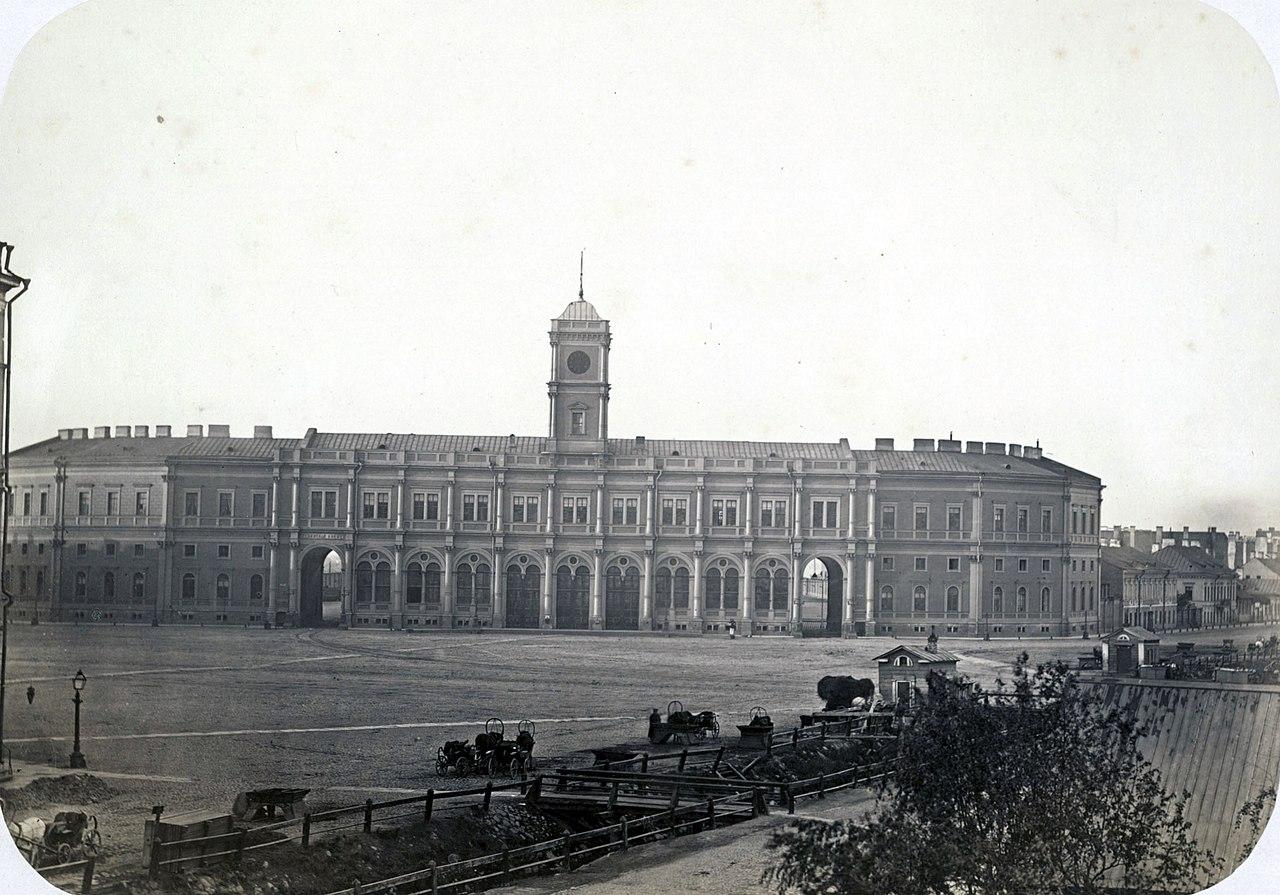 Николаевский вокзал Санкт-Петербурга