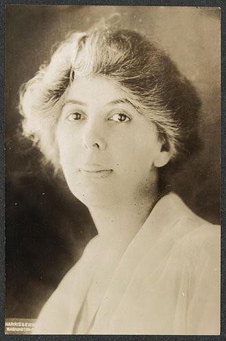 Nina E. Allender - Nina E. Allender, about 1915