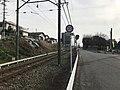 Nishitetsu Kaizuka Line on north side of Kashii-Kaenmae Station 2.jpg