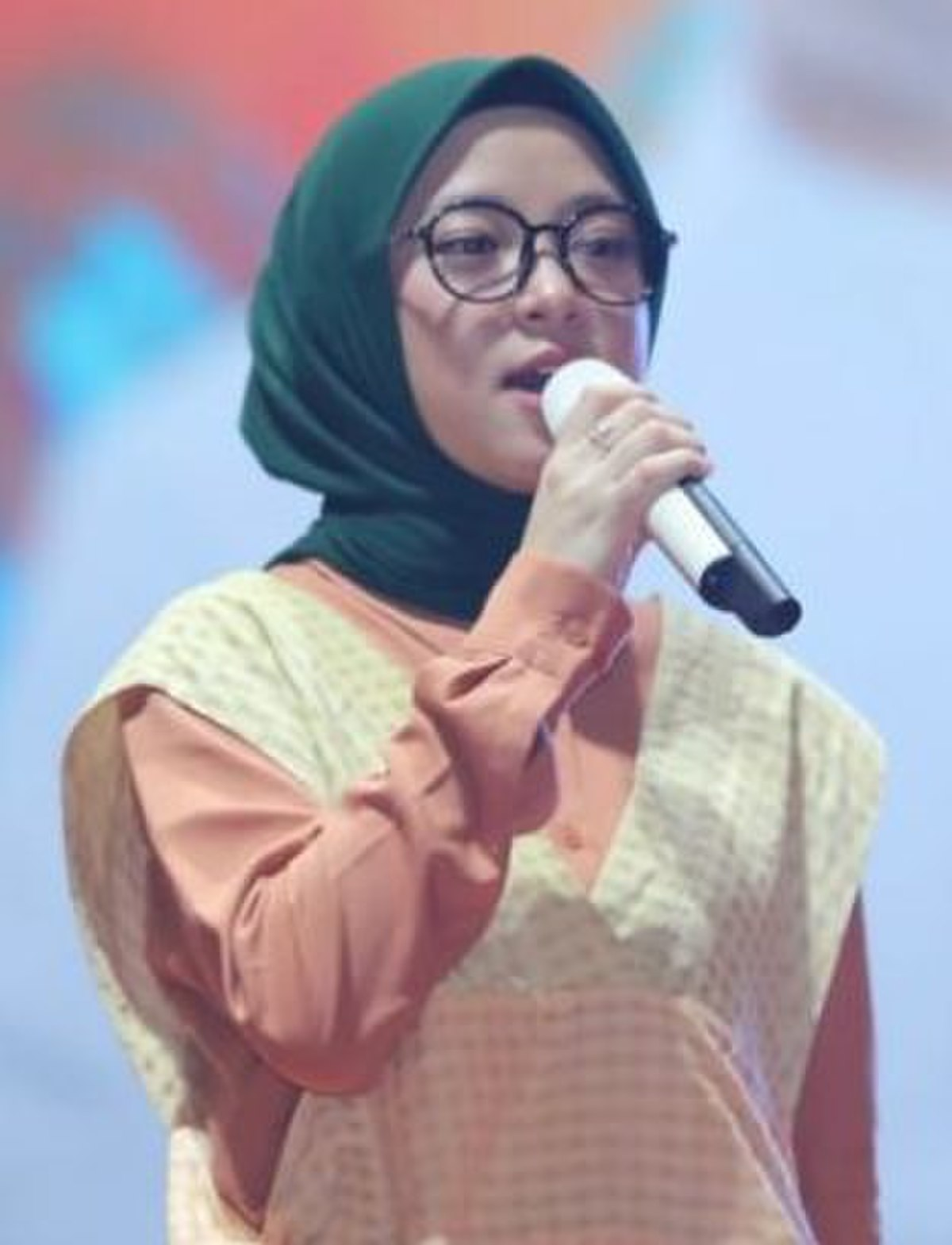 gambar gambar jilbab nisa sabyan youtube tutorial hijab organza ala