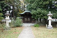 Nitta Yoshisada tomb.JPG