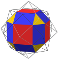 Nonuniform rhombicuboctahedron as core of dual compound max.png