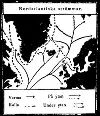 Nordatlantiske strømme, Nordisk familjebok.png