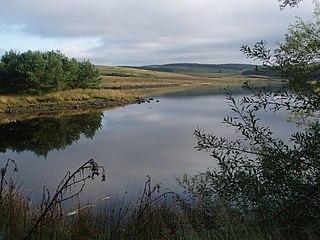 Lochinvar lake in the United Kingdom